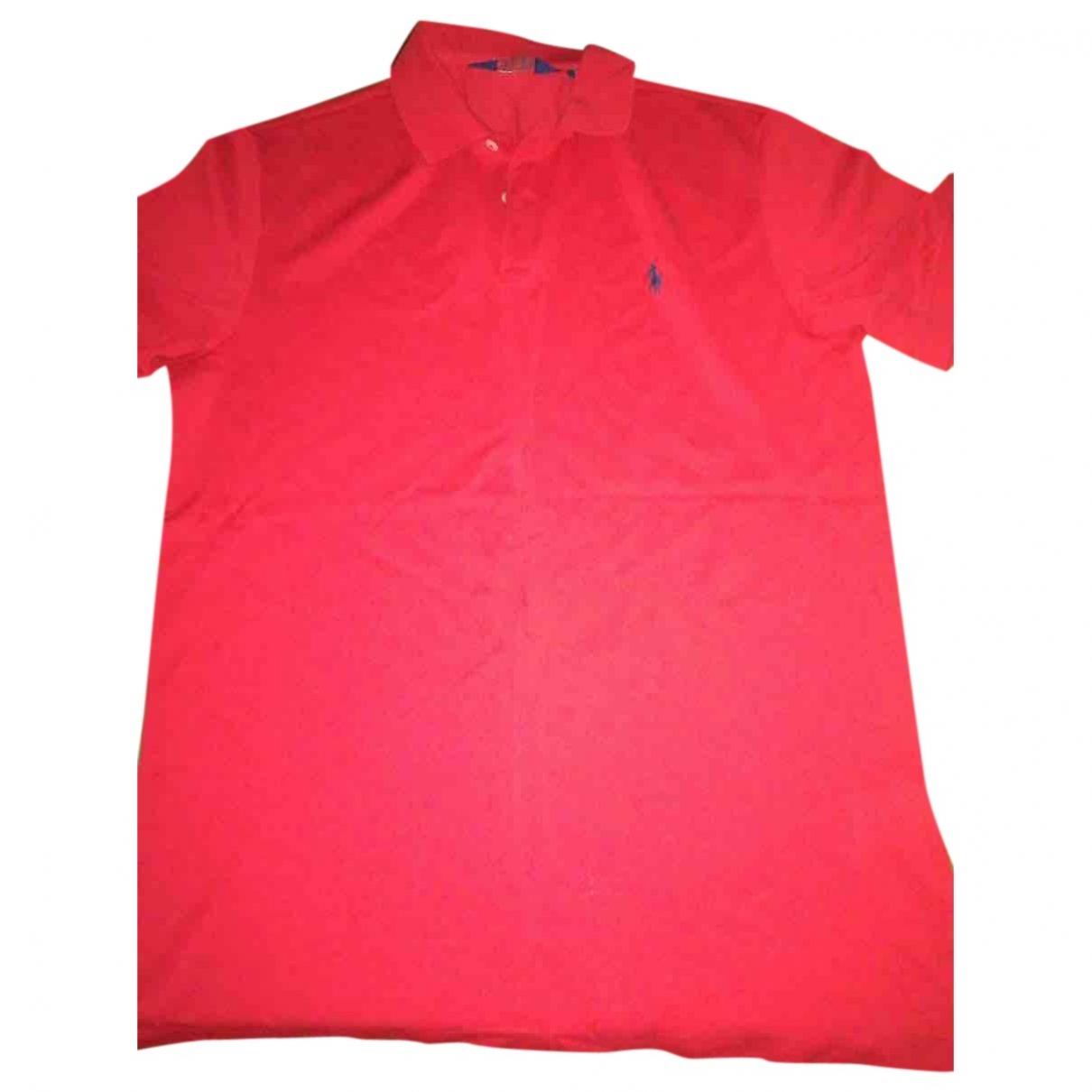 Polo Ralph Lauren \N Poloshirts in  Rot Baumwolle