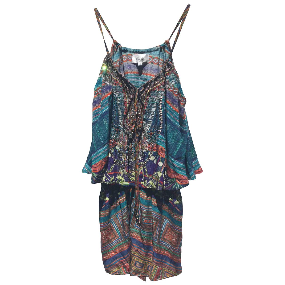 Camilla \N Blue Silk dress for Women 2 US