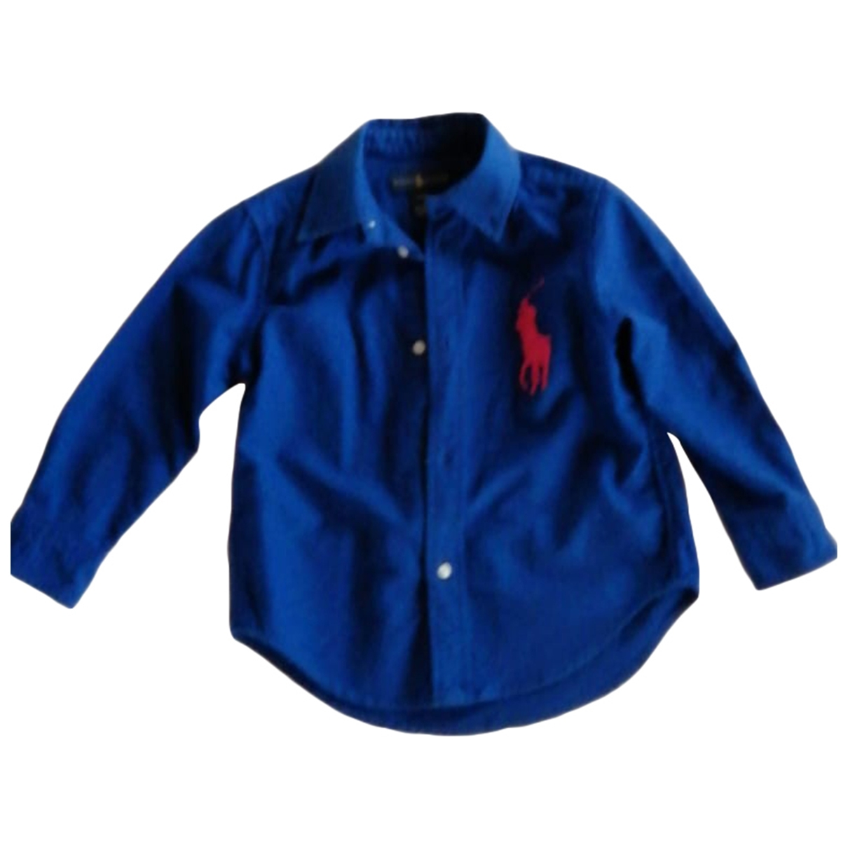 Ralph Lauren \N Blue Cotton  top for Kids 3 years - until 39 inches UK