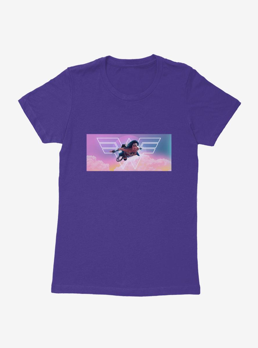 DC Comics Wonder Woman 1984 Diana In Flight Womens T-Shirt