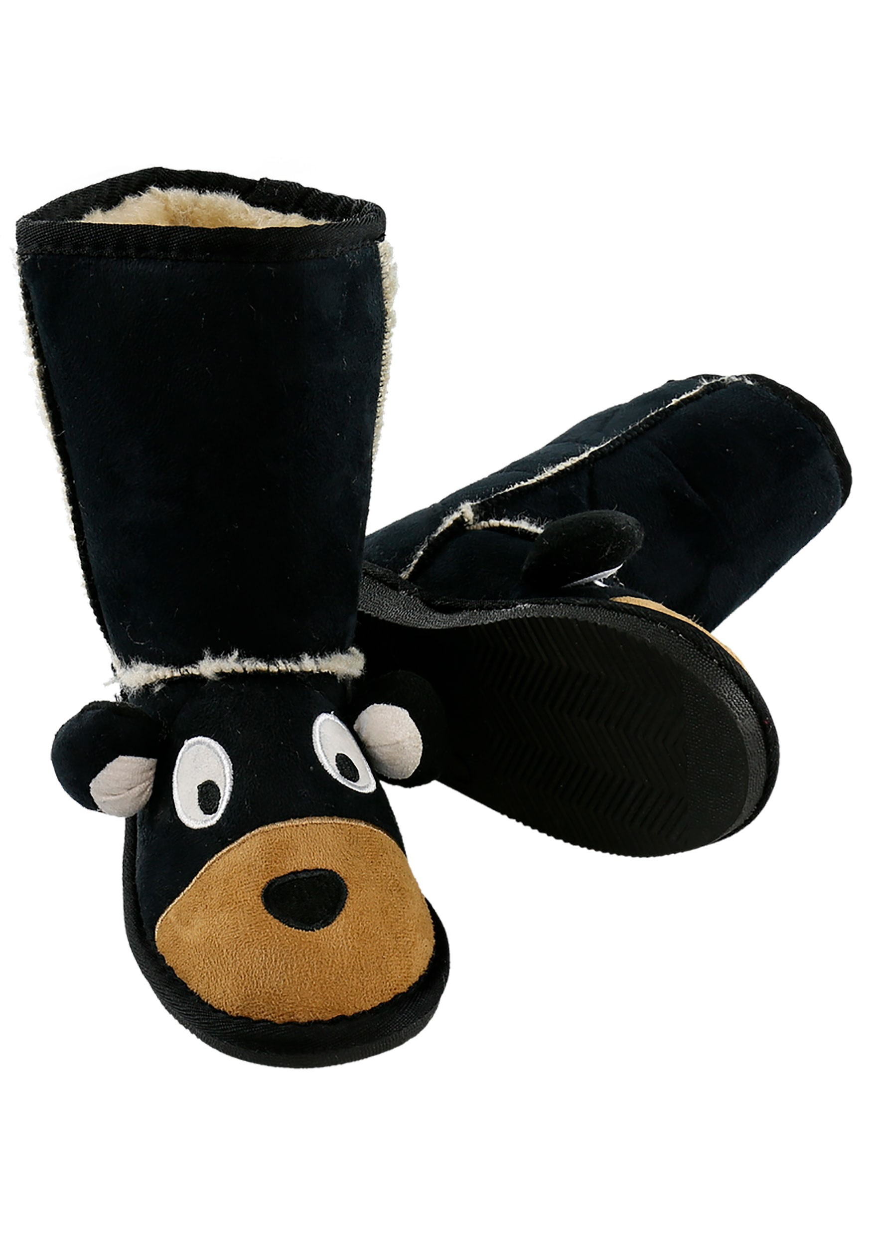 Kids Toasty Toez Bear Slippers