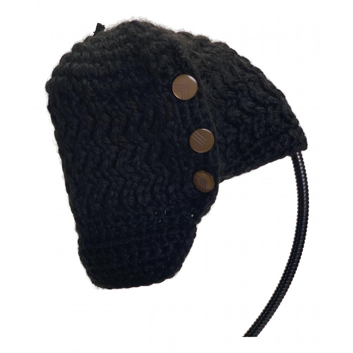 Nobis N Black Wool hat for Women M International
