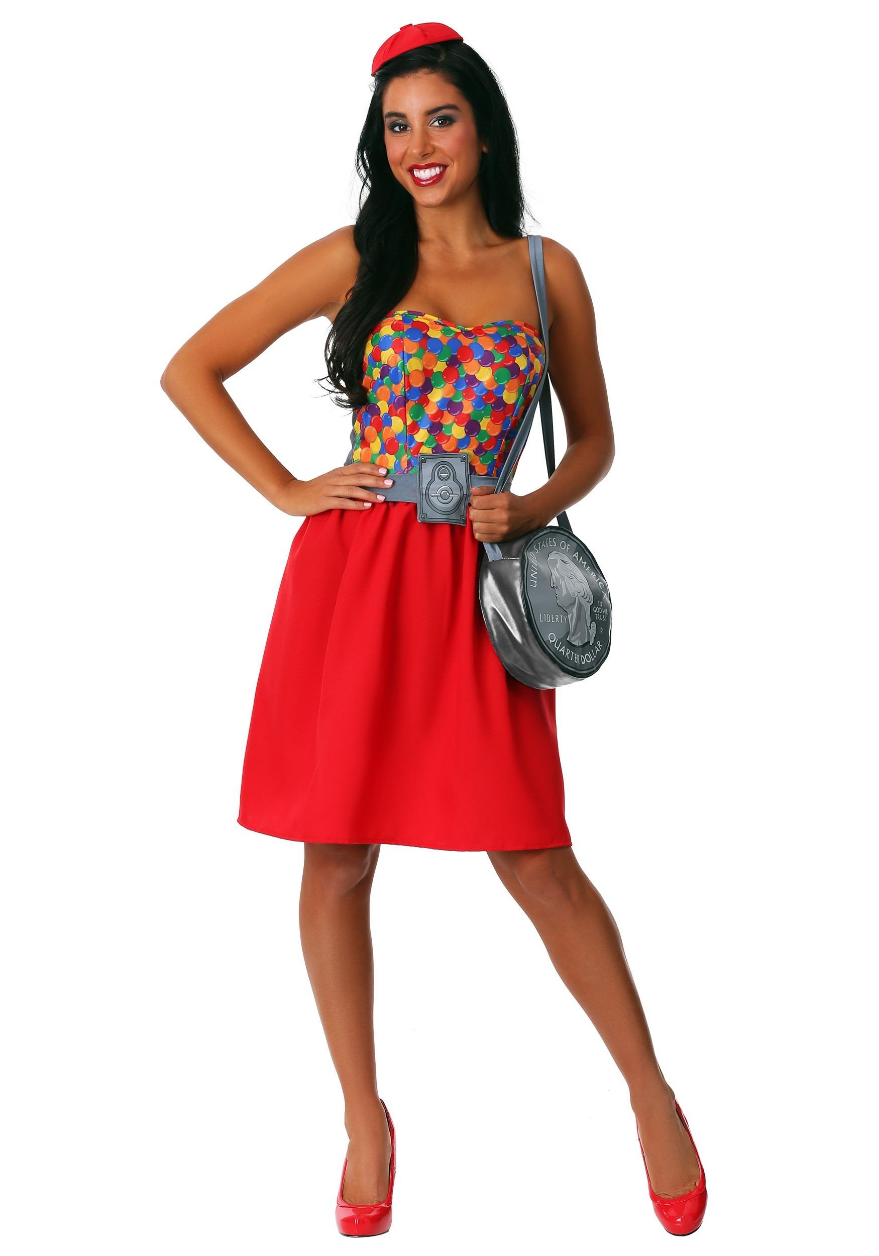 Gumball Machine Women's Costume