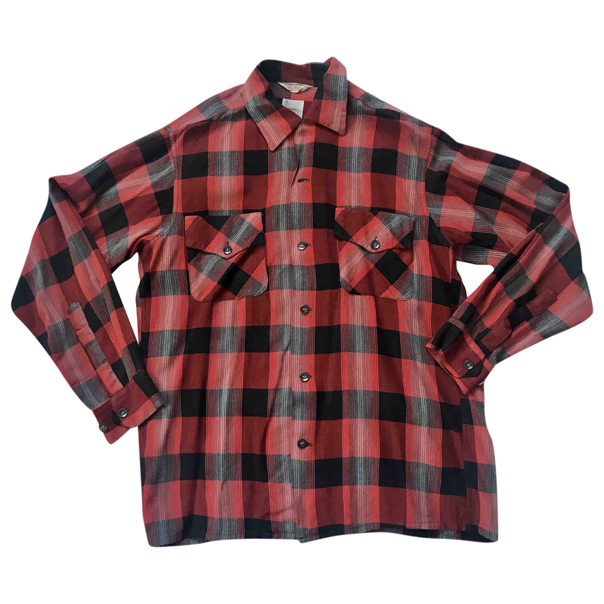 Non Signé / Unsigned \N Red Shirts for Men M International