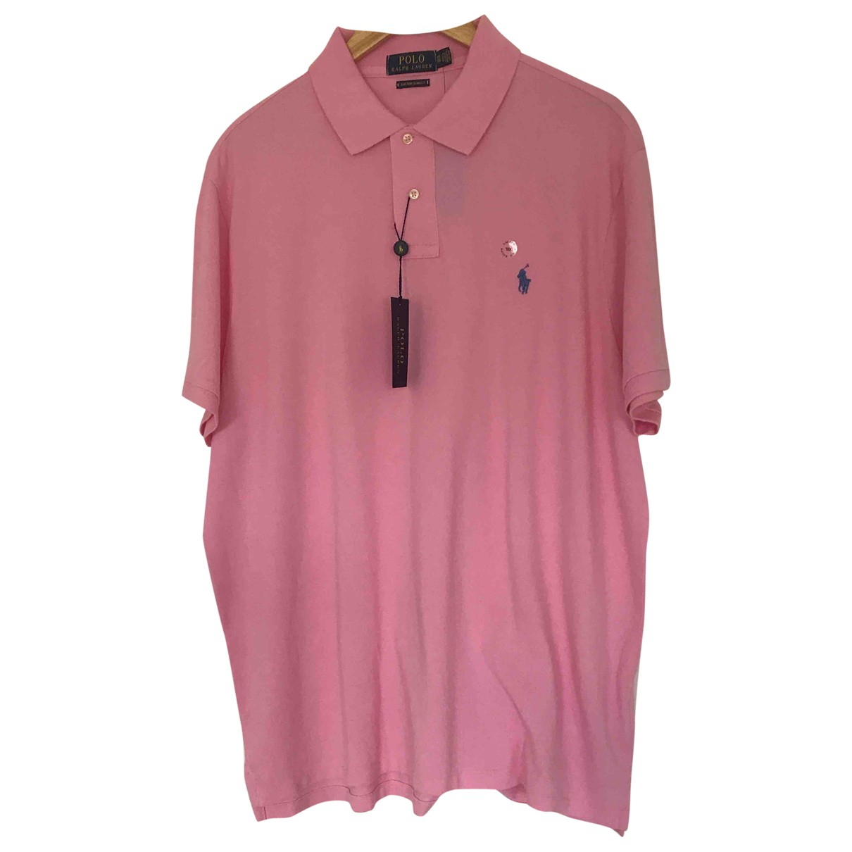 Polo Ralph Lauren Polo cintre manches courtes Poloshirts in  Rosa Baumwolle
