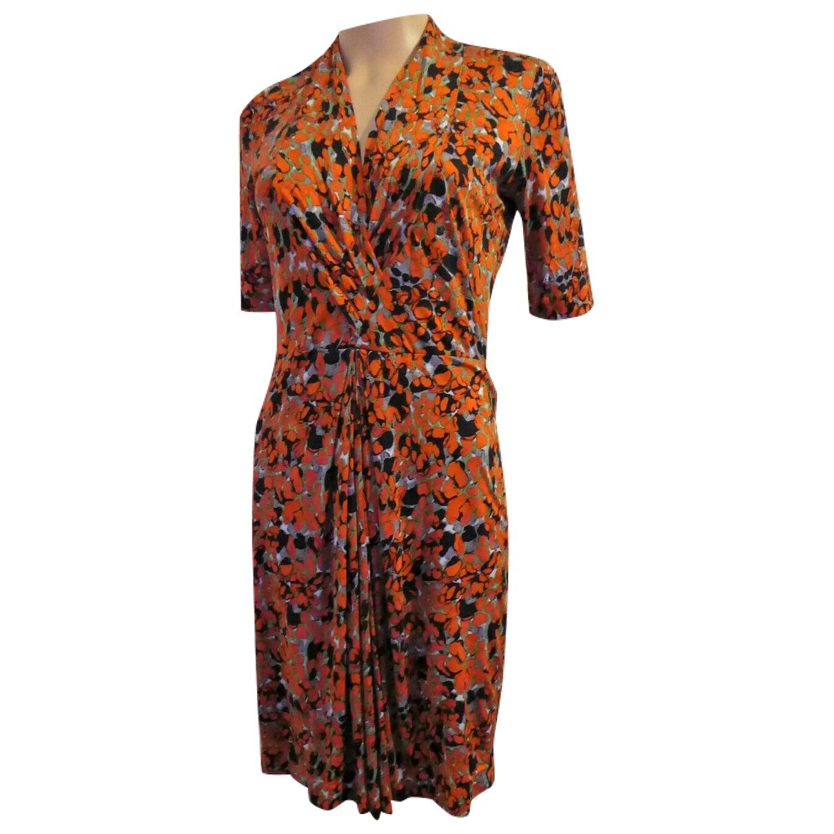 Hugo Boss \N Orange Cotton dress for Women 6 UK