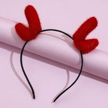 Christmas Antlers Hair Hoop