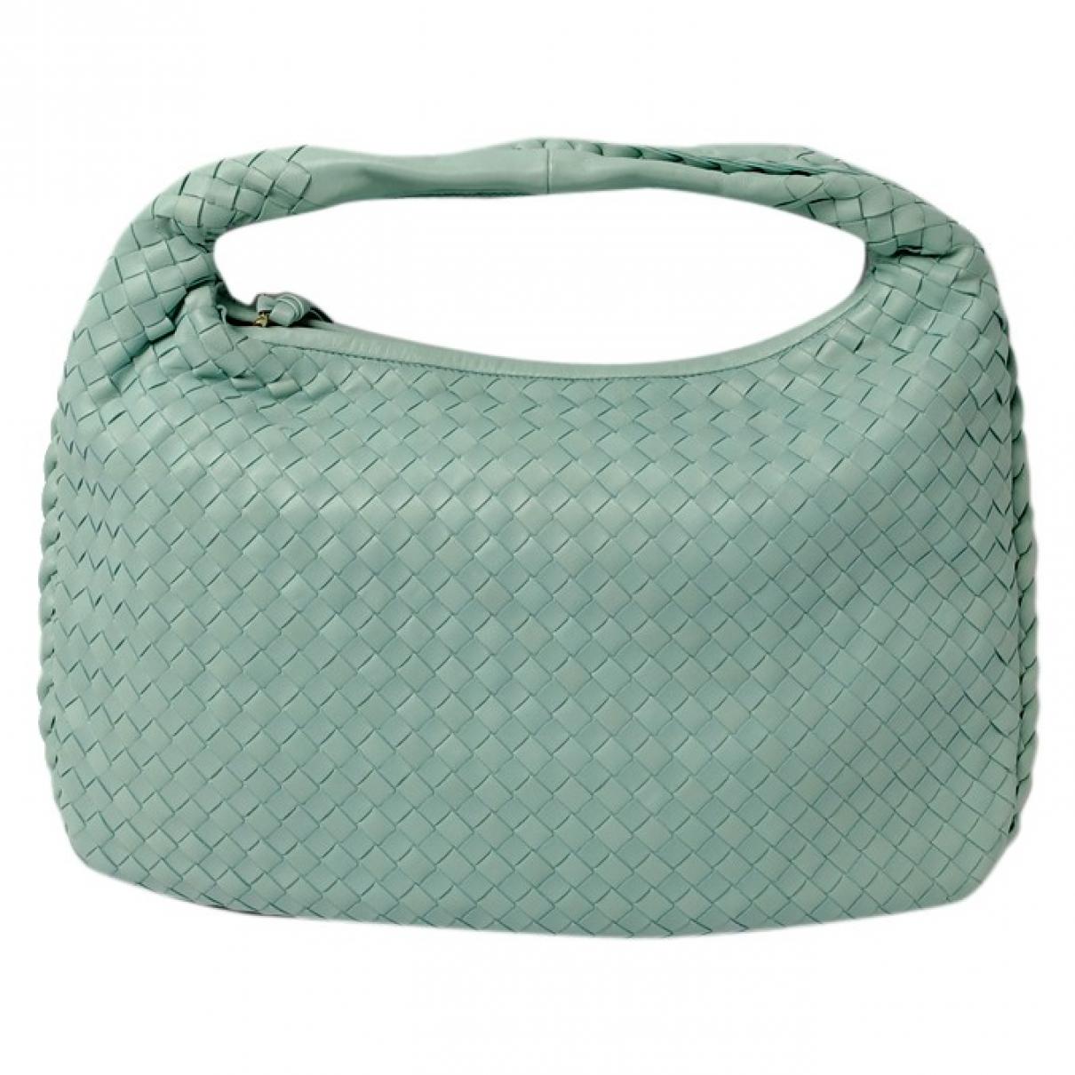 Bottega Veneta Veneta Blue Leather handbag for Women \N