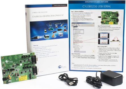 Cypress Semiconductor , Dual Channel USB Development Kit - CYUSBS236