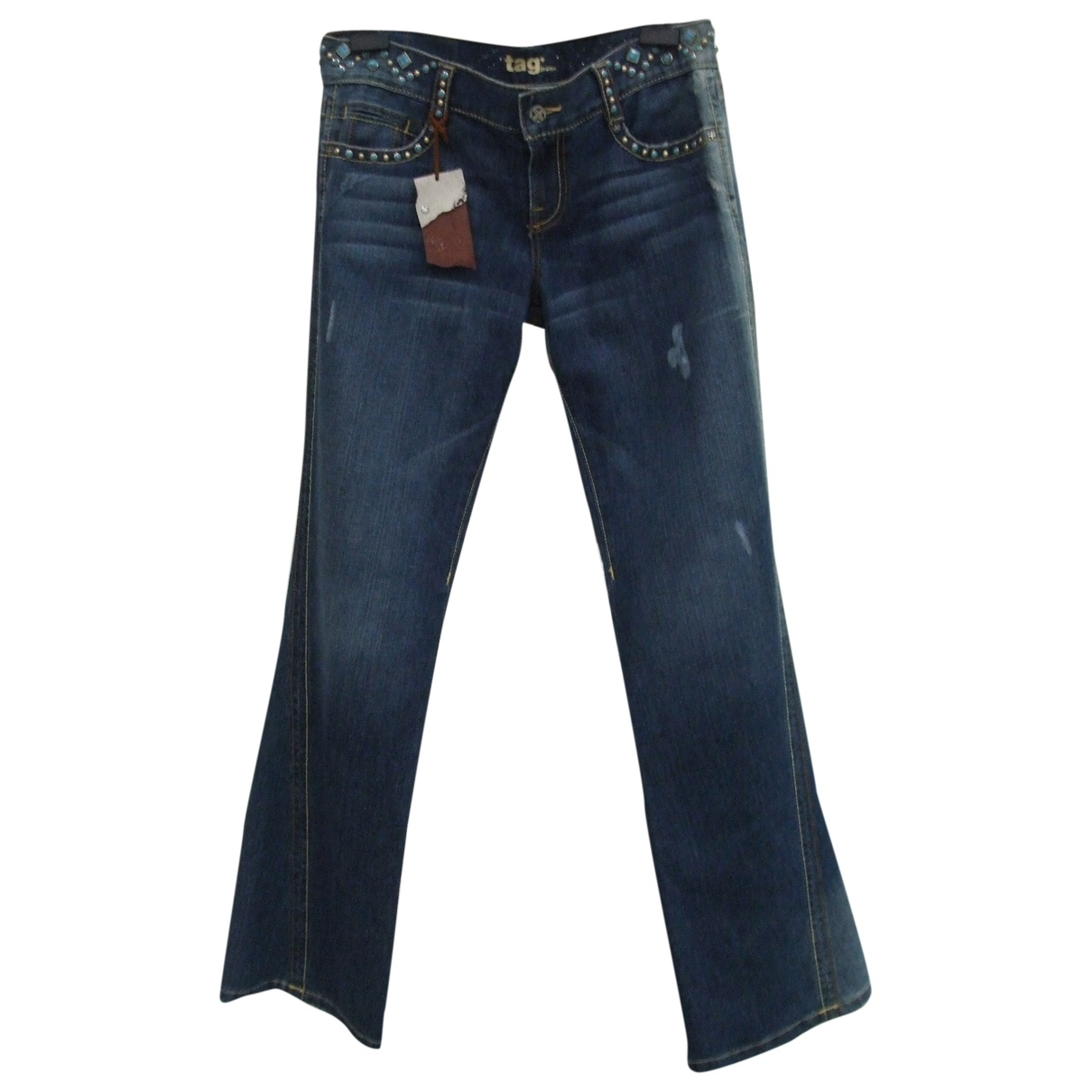 Tag Heuer \N Blue Denim - Jeans Jeans for Women 32 US