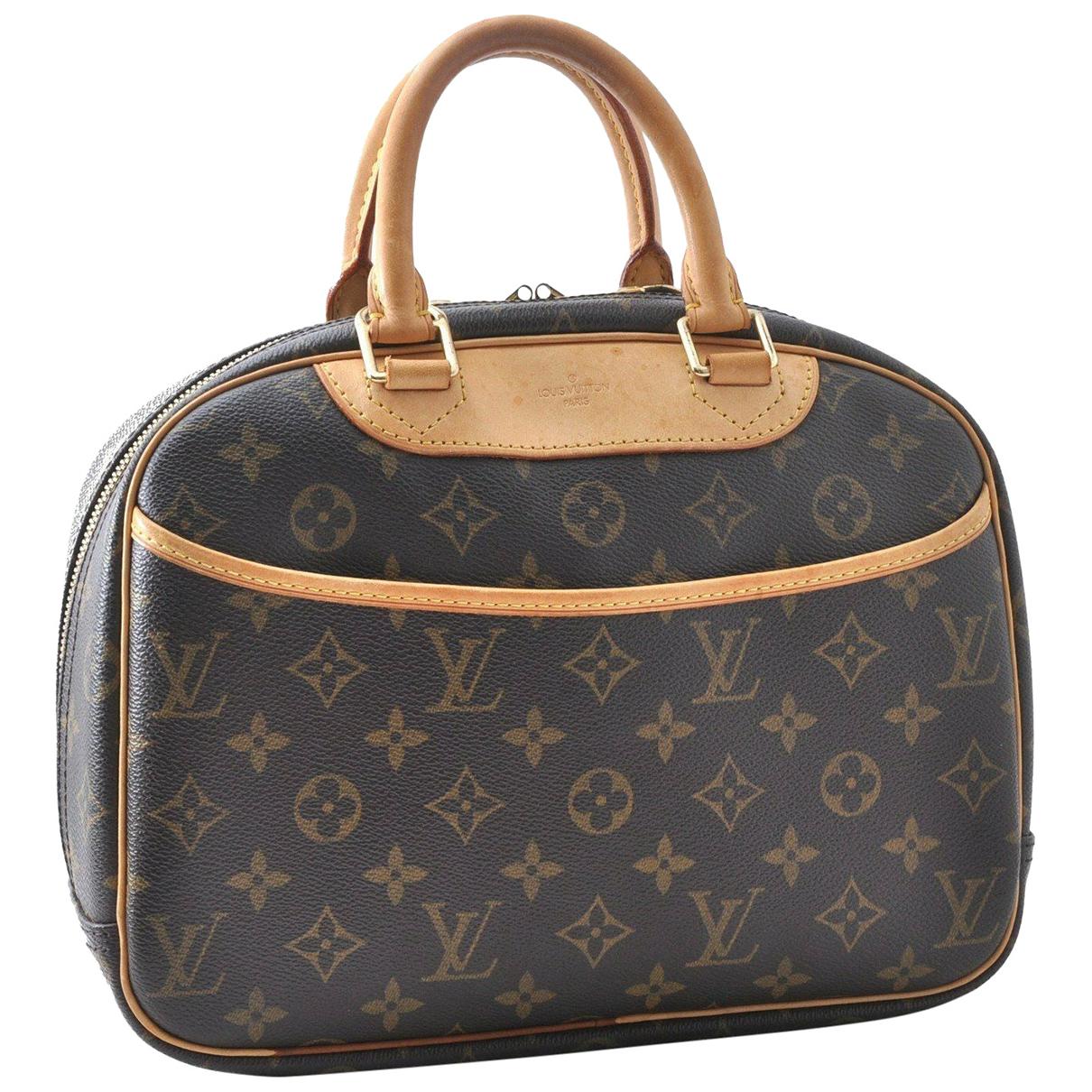 Bolso Trouville de Lona Louis Vuitton