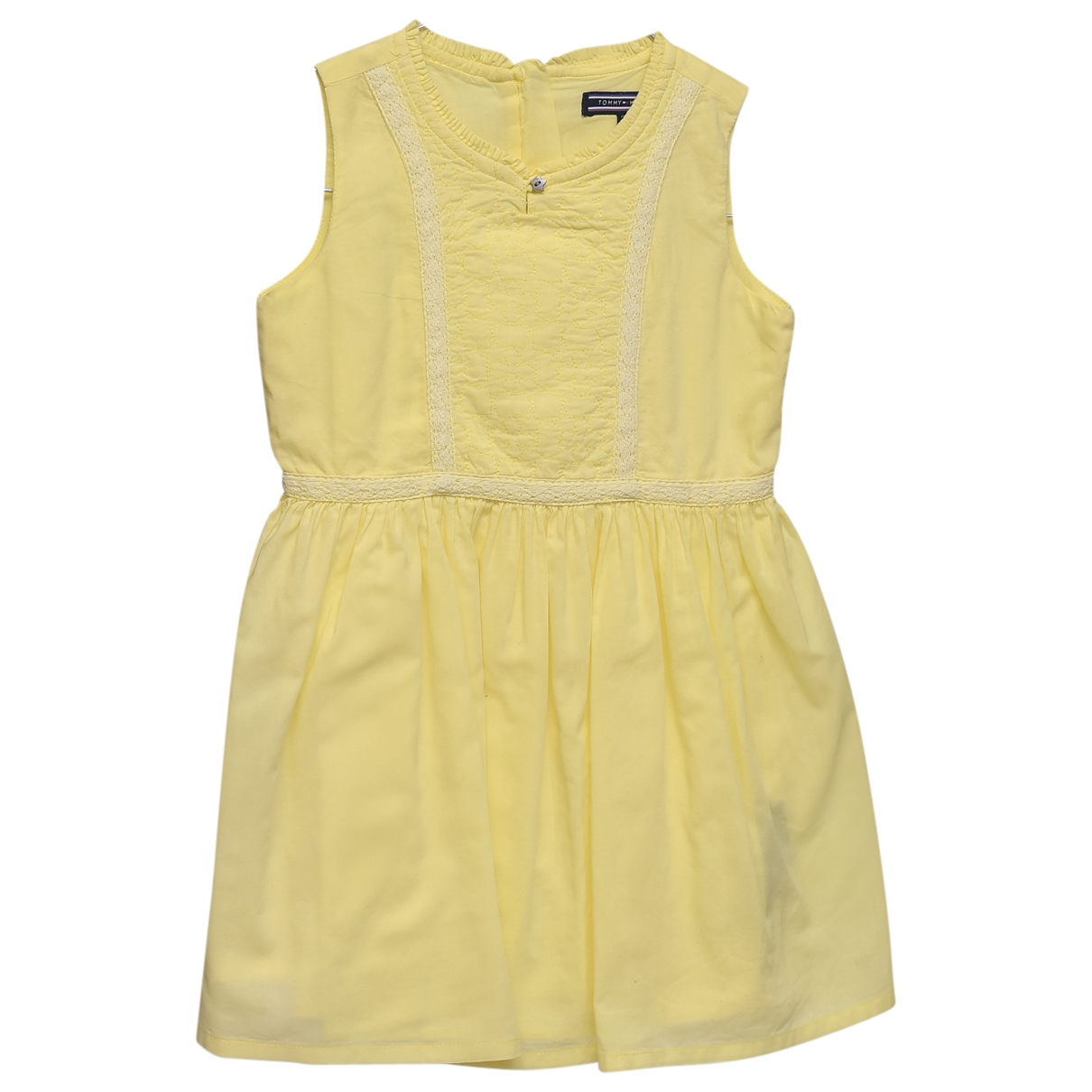 Tommy Hilfiger \N Kleid in  Gelb Baumwolle