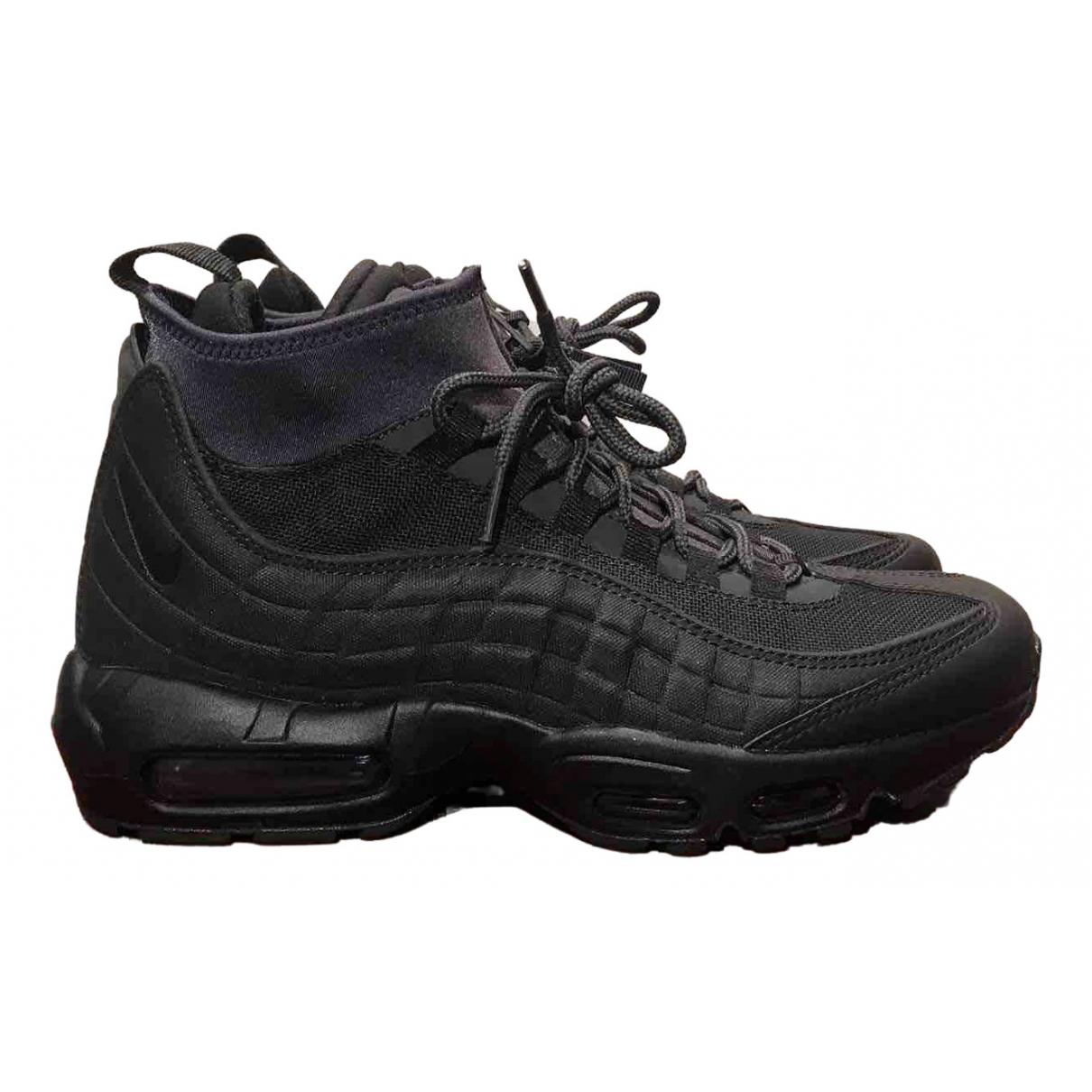 Nike \N Black Cloth Trainers for Men 41 EU