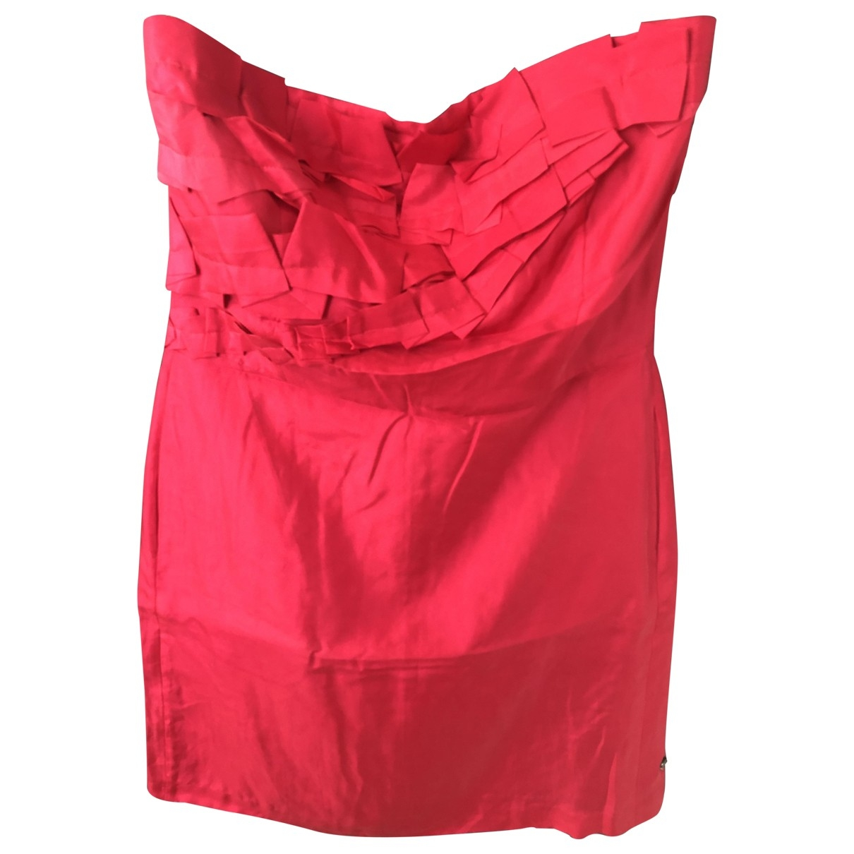 Boss Orange \N Kleid in  Rosa Seide