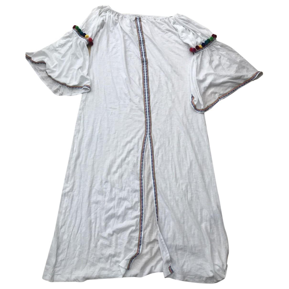 Pitusa \N White Cotton dress for Women One Size International