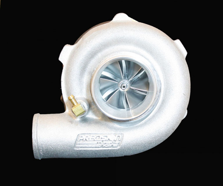 Precision Turbo & Engine 10701006149 GEN1 PT5858 JB B CC w/ Stainless T3 V-Band IN/OUT .82 A/R