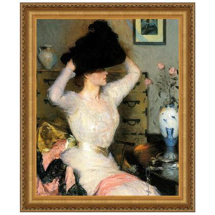 DA3483 32X37.5 The Black Hat 1904 In