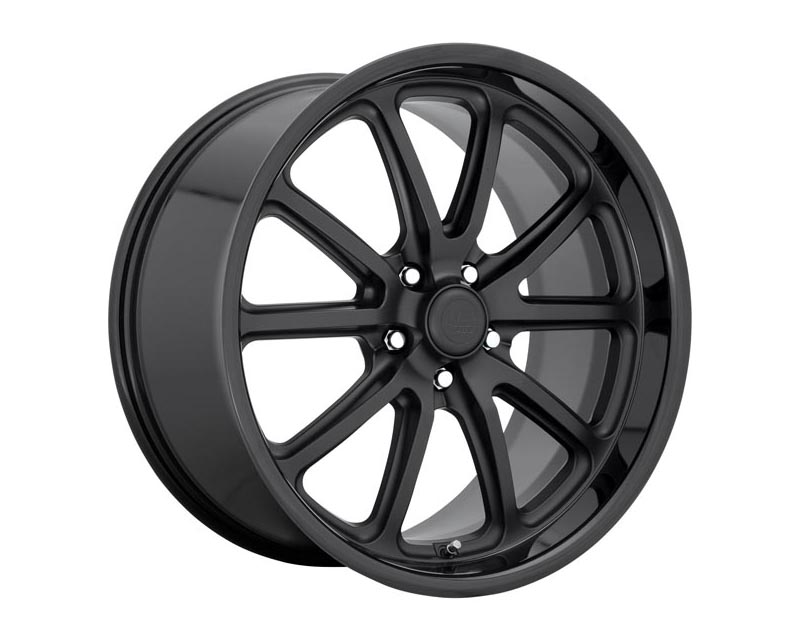 US Mag U123 Rambler Wheel 20x9.50 5x120.65 1 Gloss Black Matte Black