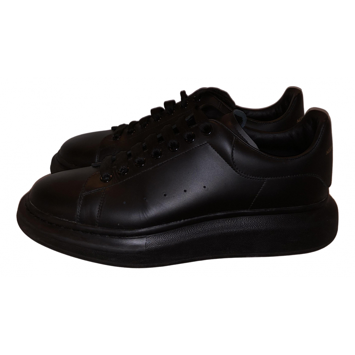 Alexander Mcqueen - Baskets Oversize pour homme en cuir - noir