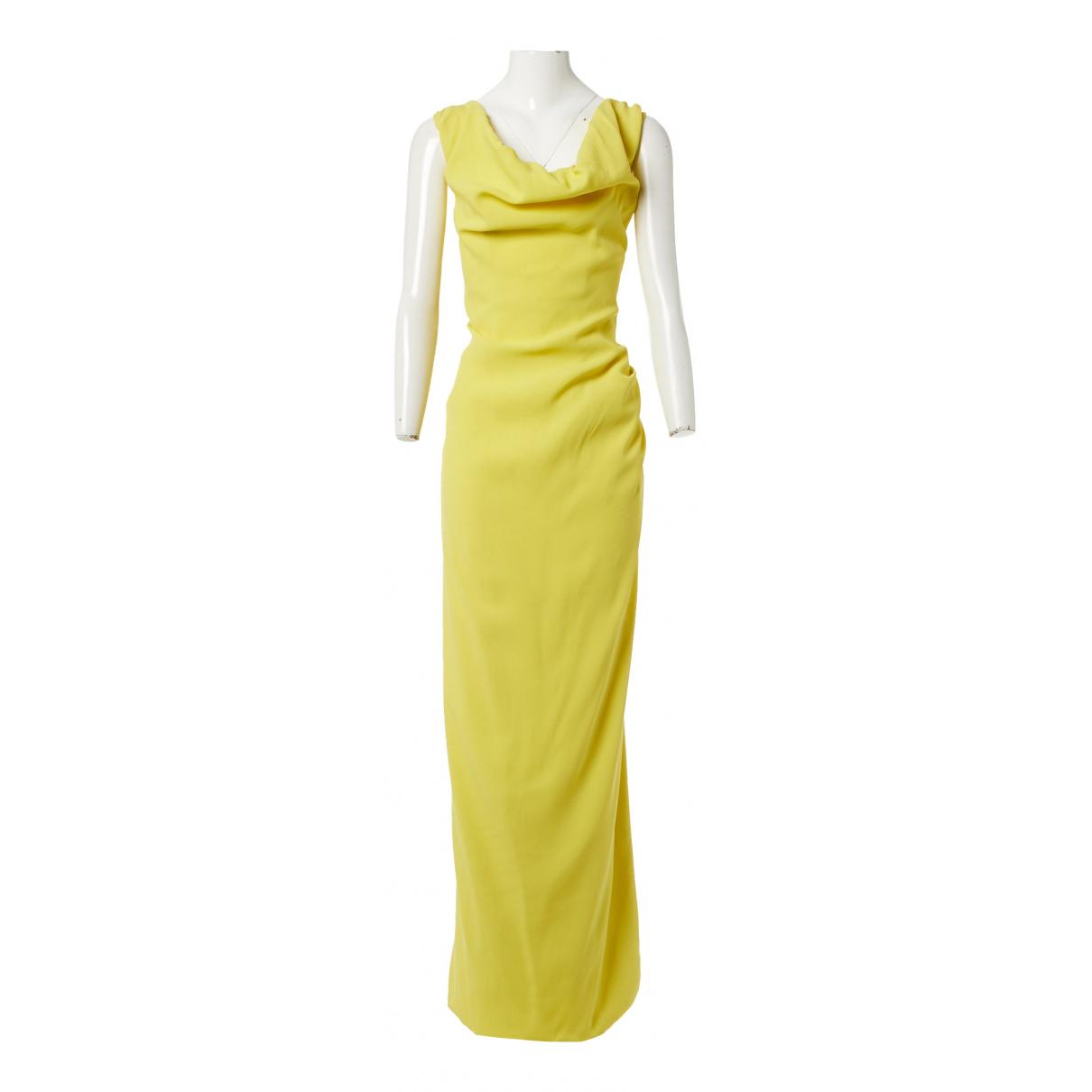 Vivienne Westwood N Yellow dress for Women 38 IT