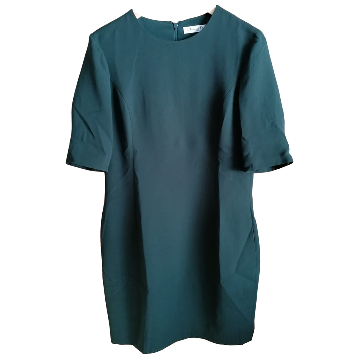 Christian Dior - Robe   pour femme en soie - vert