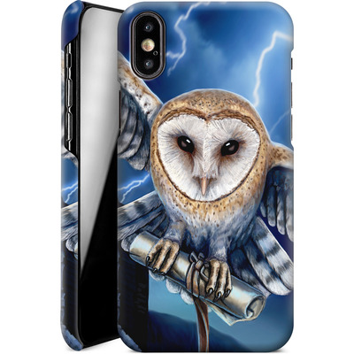 Apple iPhone X Smartphone Huelle - Heart of The Storm von Lisa Parker