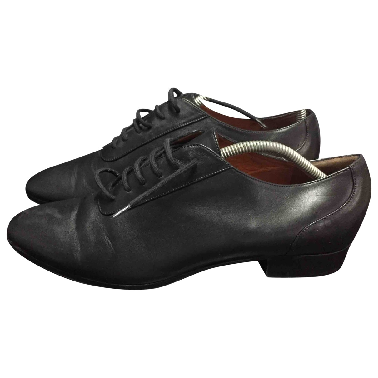 Missoni \N Black Leather Lace ups for Women 40 EU