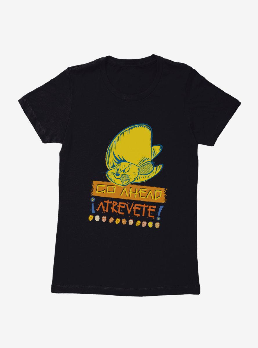 Looney Tunes Speedy Gonzales Go Ahead Atrevete Womens T-Shirt