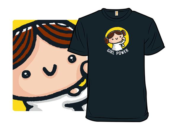 Girl Power V T Shirt