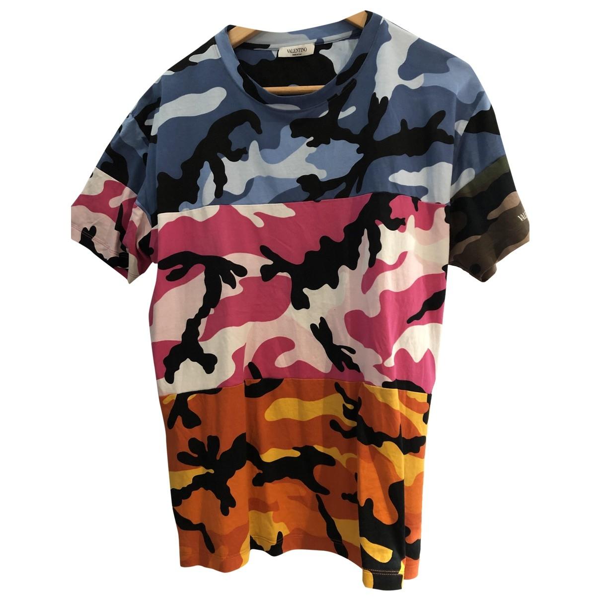 Valentino Garavani - Tee shirts   pour homme en coton - multicolore