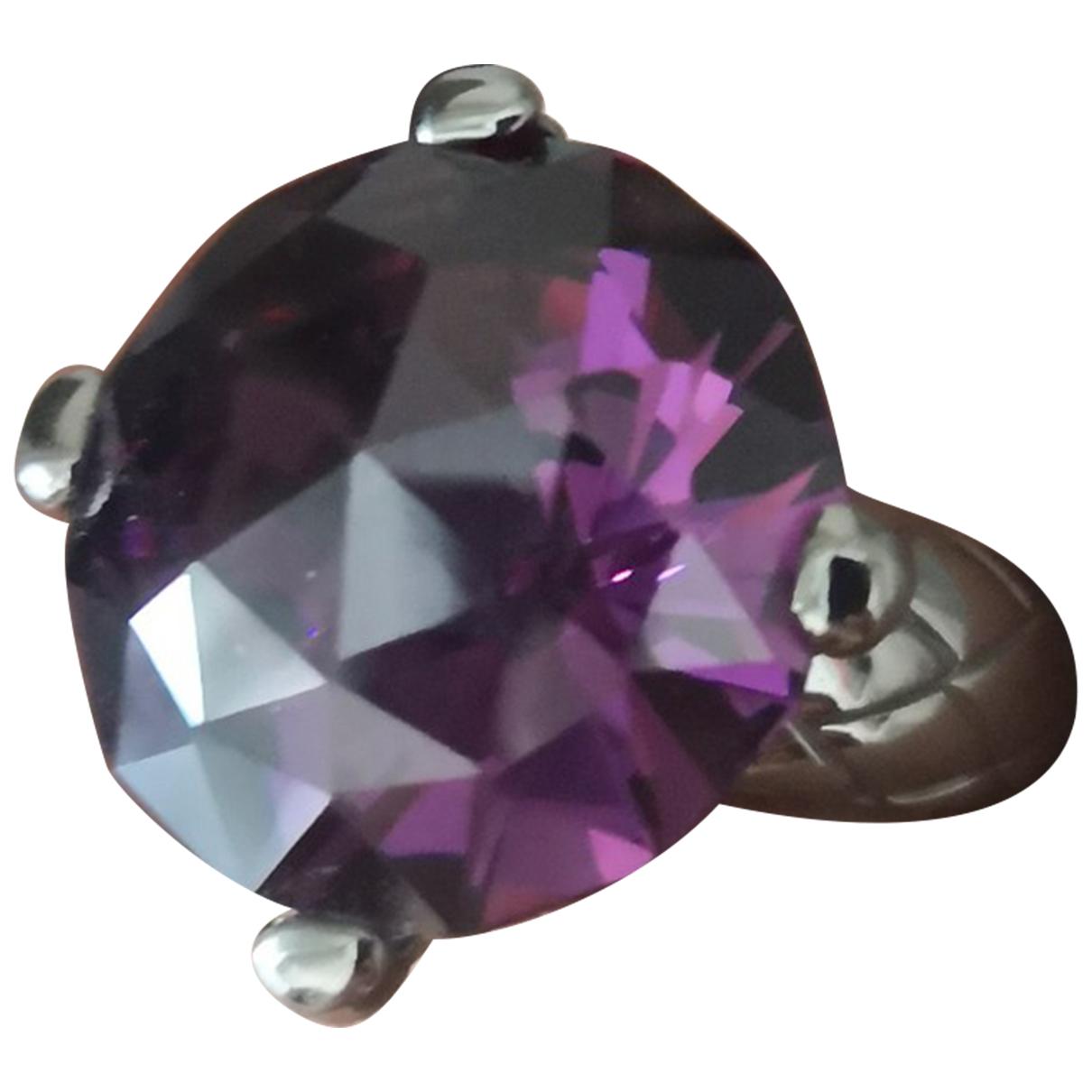 Just Cavalli \N Ring in  Silber Metall