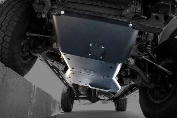 Expedition One TACO16+-SKID-COMBO-BARE Front Ultra HD Skid Plate (Complete System) Toyota Tacoma 2016+