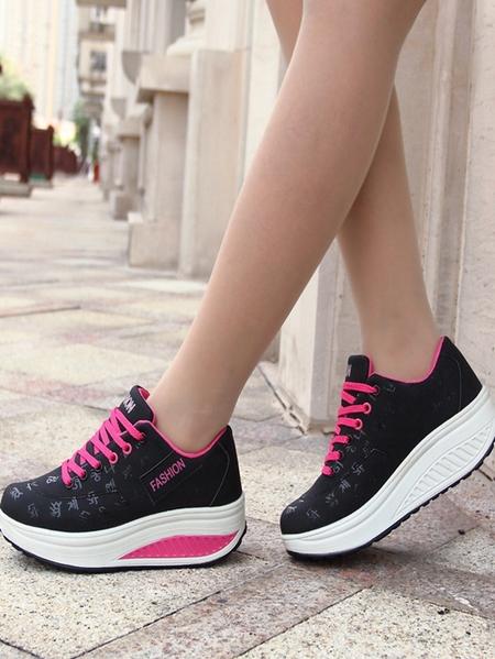 Yoins Increased Breathable Sneakers