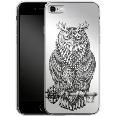 Apple iPhone 6 Silikon Handyhuelle - Great Horned Owl von BIOWORKZ