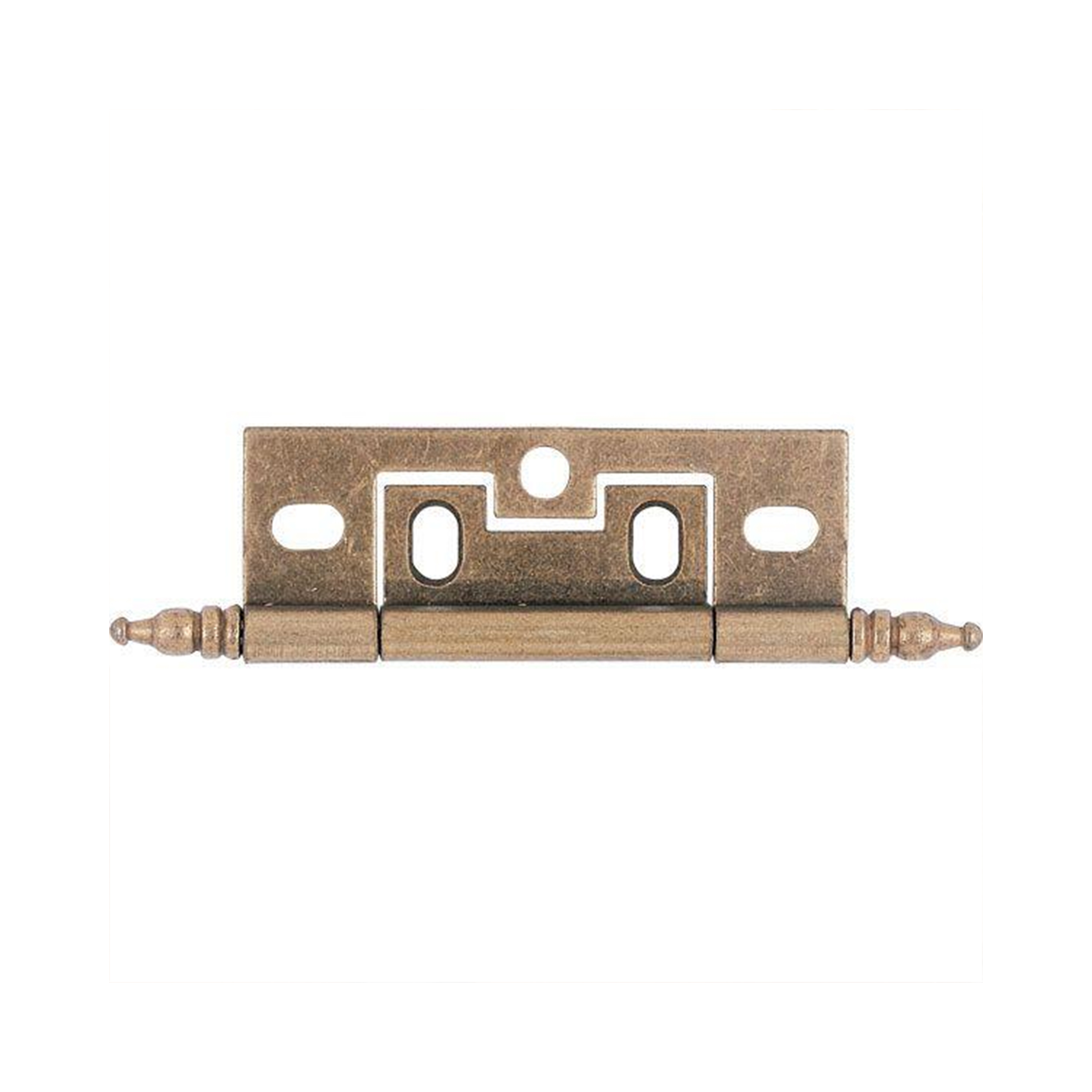 Non-mortise Cabinet Hinge, Antique Brass 1