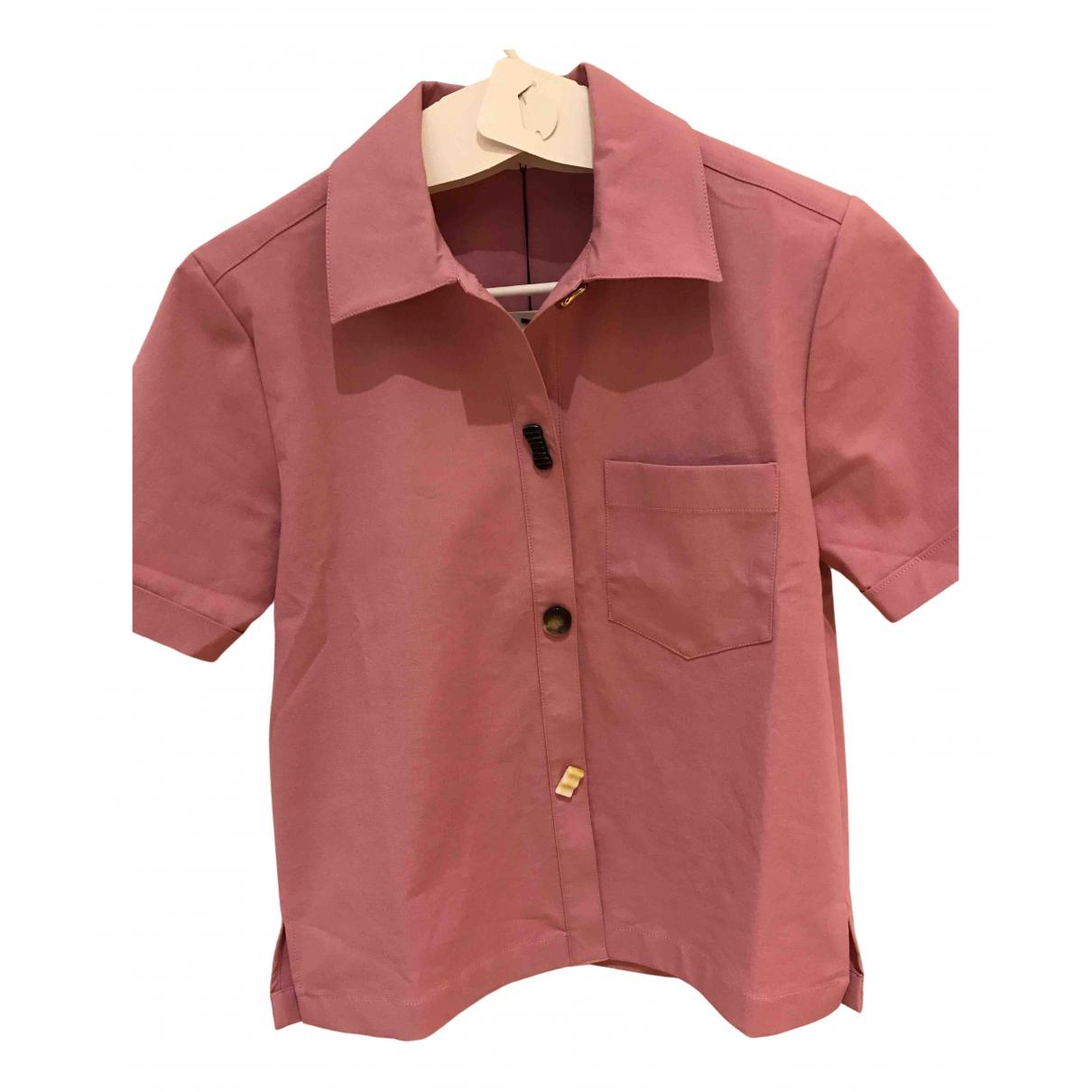 Rejina Pyo N Pink Cotton  top for Women S International