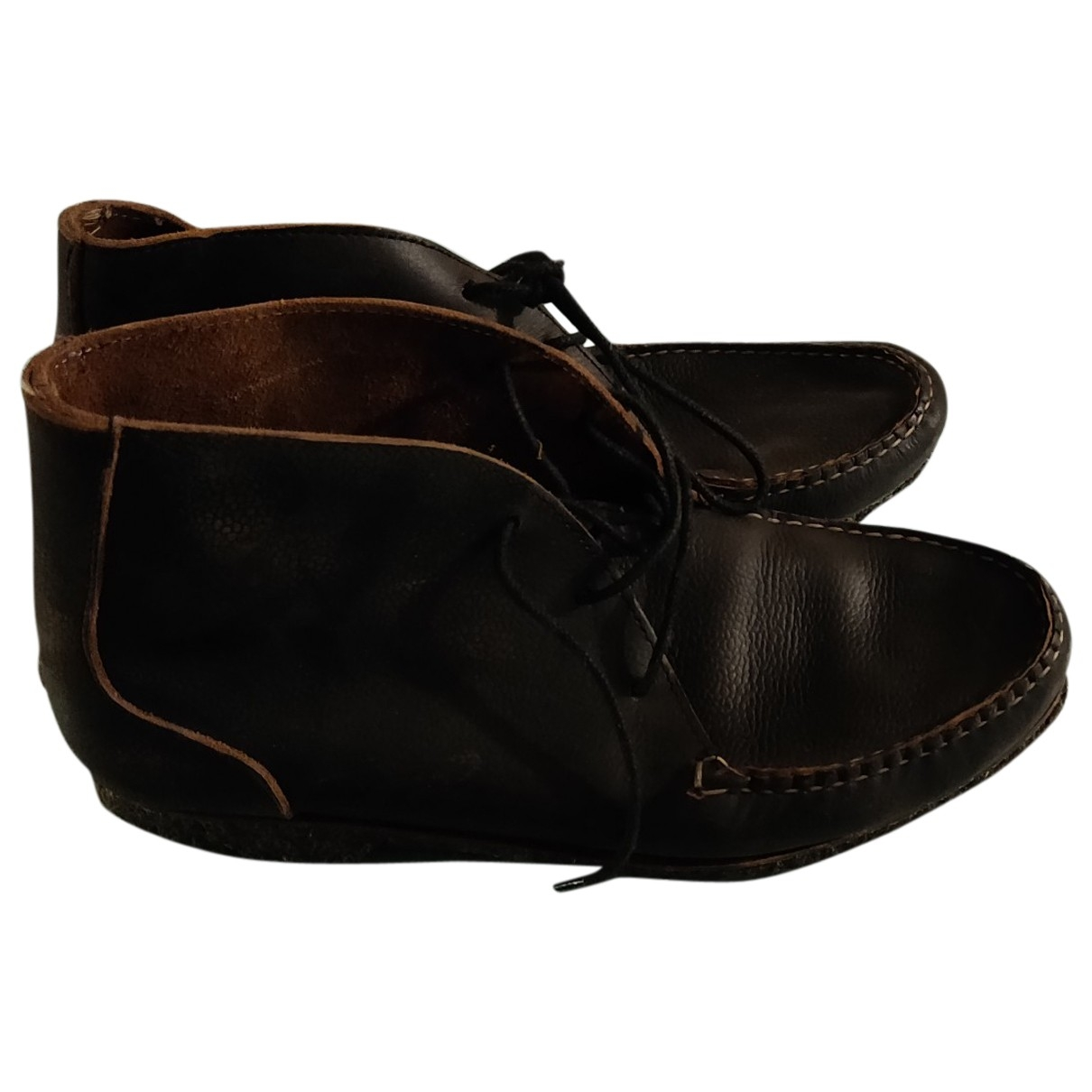 Quoddy \N Brown Leather Boots for Men 11 US