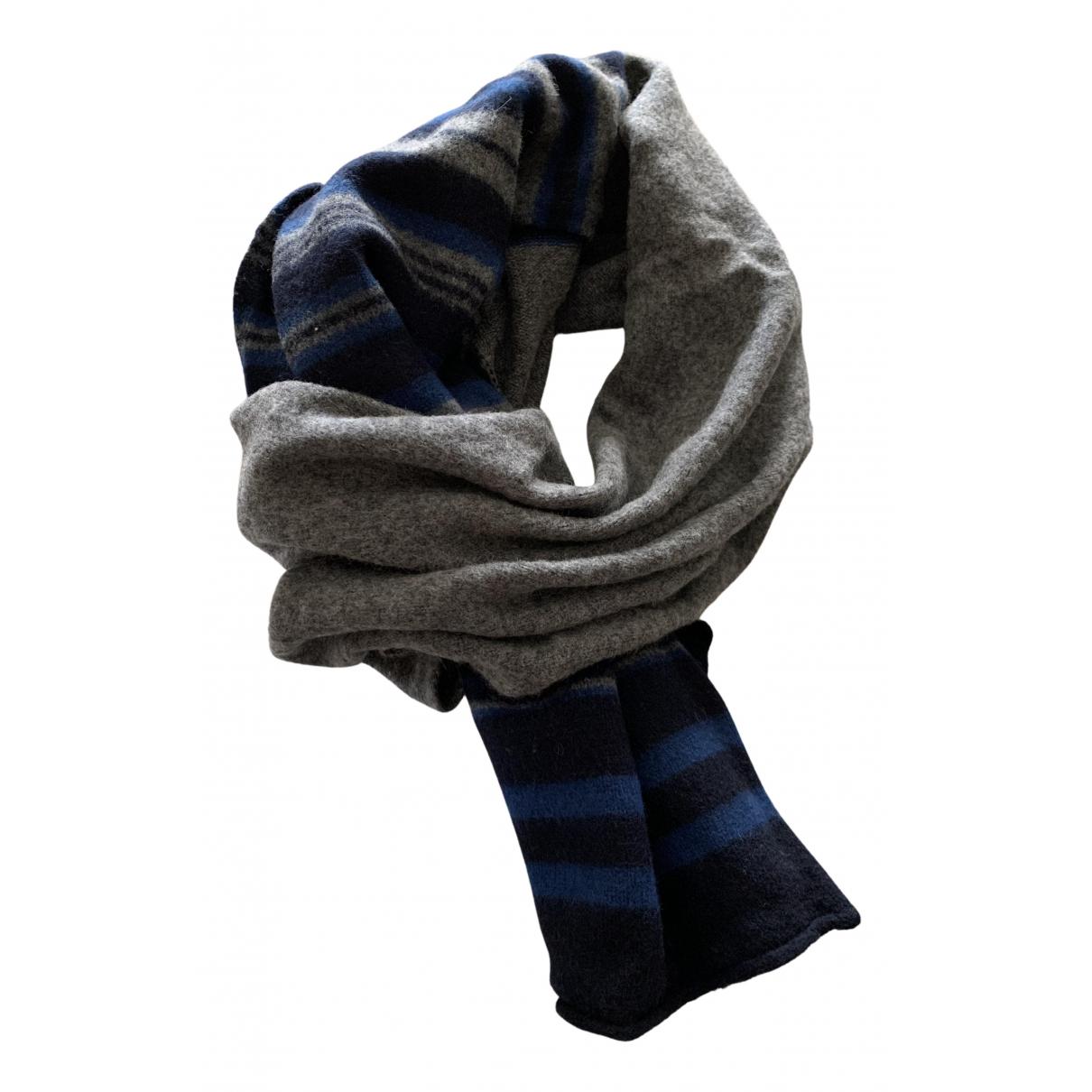 Drumohr \N Schal in  Blau Wolle