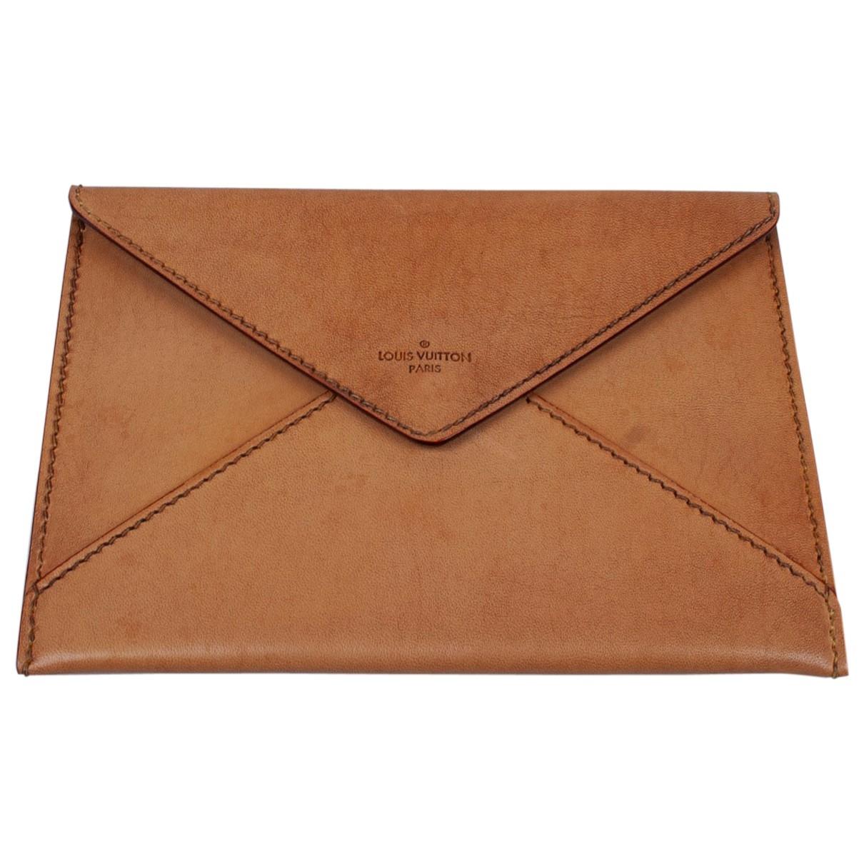 Louis Vuitton - Petite maroquinerie   pour homme en cuir - marron