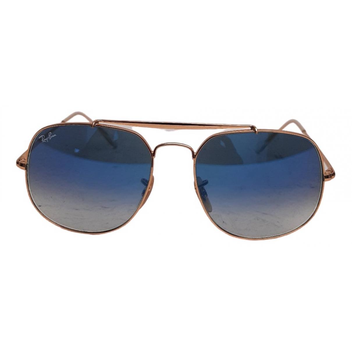 Ray-ban General Gold Metal Sunglasses for Men \N