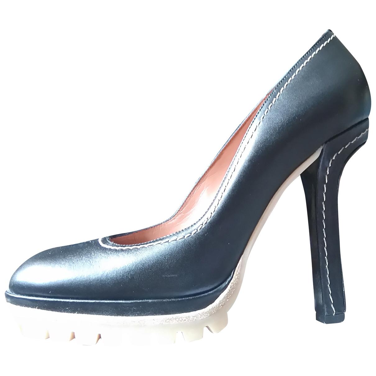 Marni \N Black Leather Heels for Women 40 EU