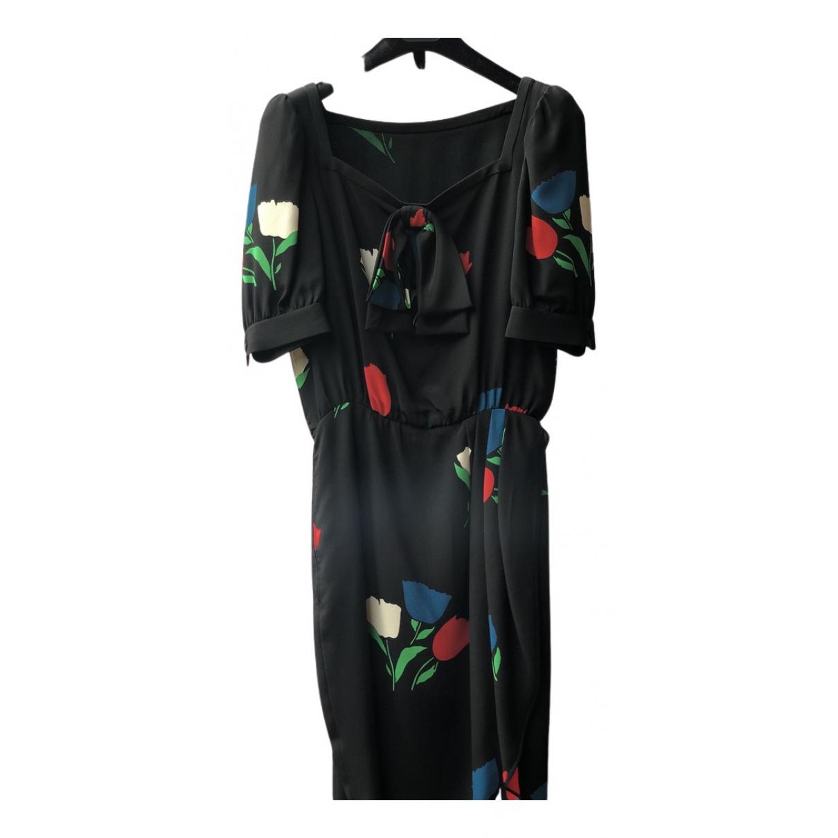 Valentino Garavani N Black Silk dress for Women 6 UK