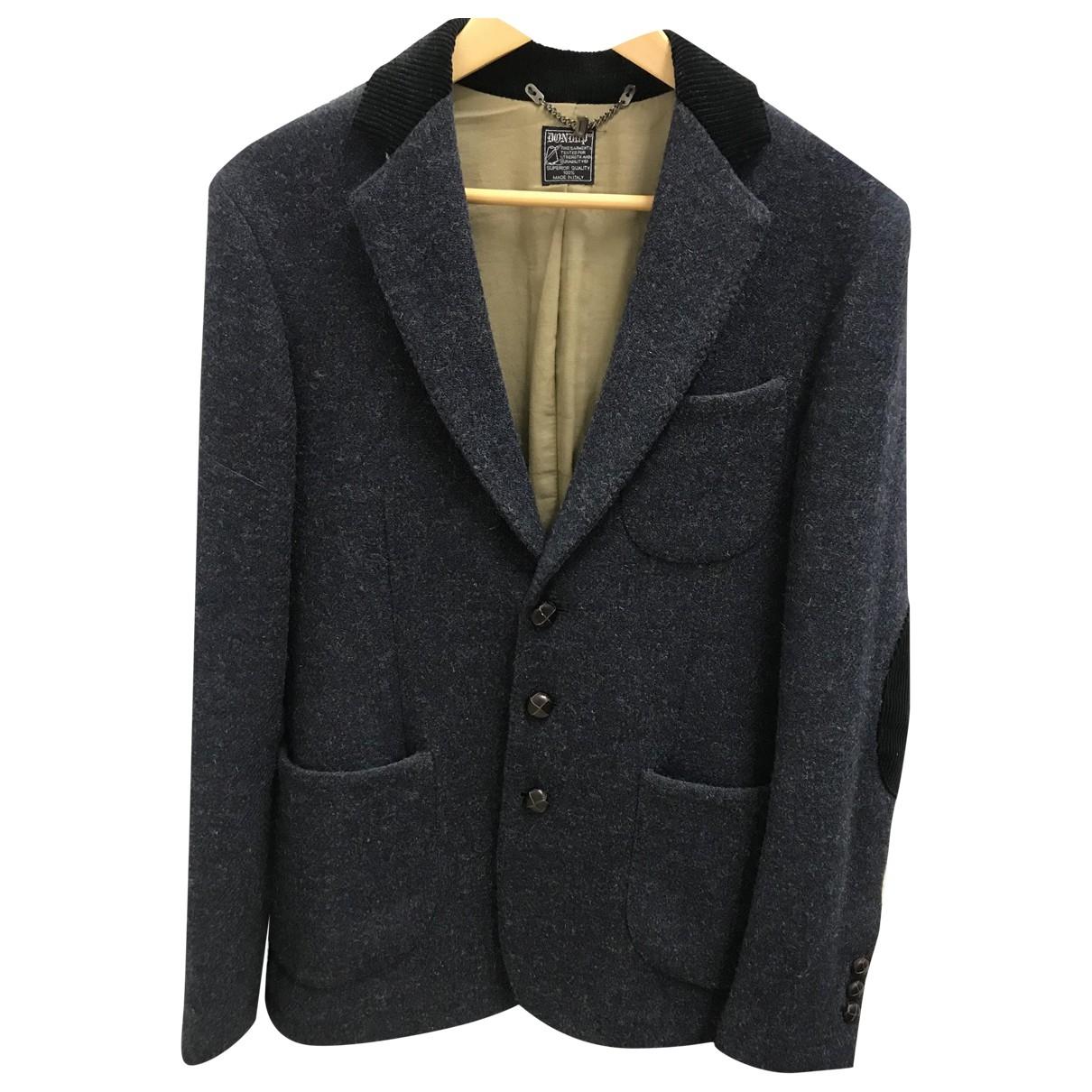 Dondup - Vestes.Blousons   pour homme en laine - gris