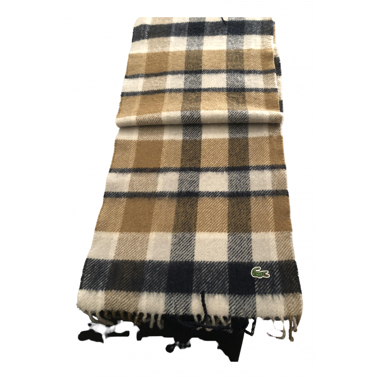 Pañuelo / bufanda de Lana Lacoste