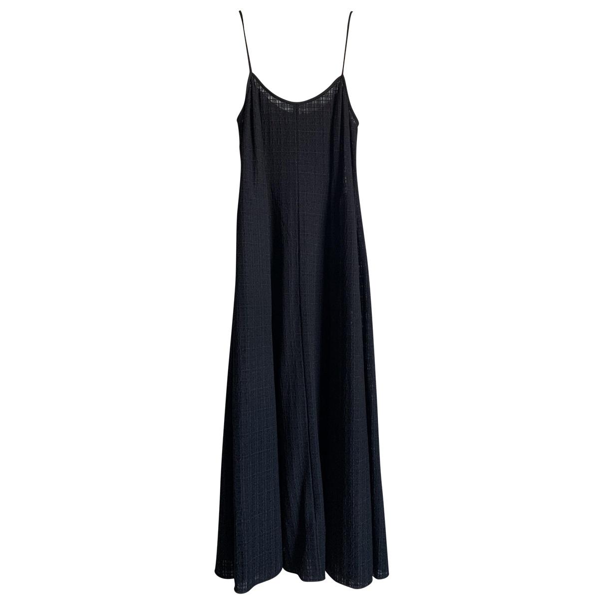 Giorgio Armani \N Kleid in  Blau Polyester