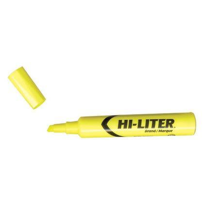 Avery HI-LITER@ bureau-style chisel point surligneur - jaune 243873