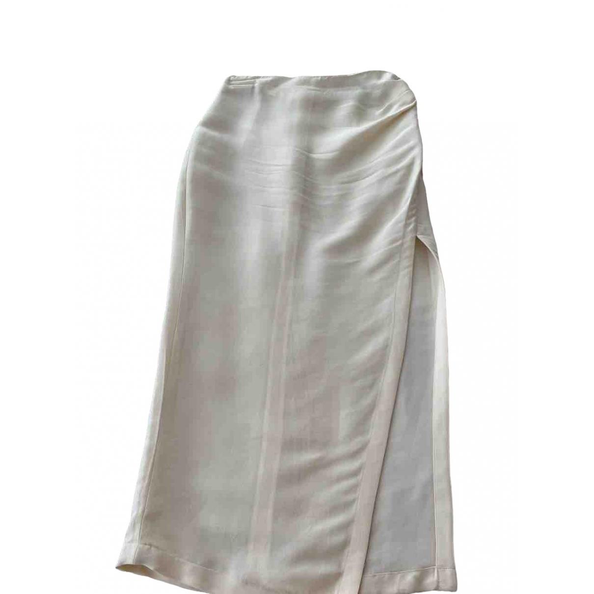 Off-white - Jupe   pour femme en soie