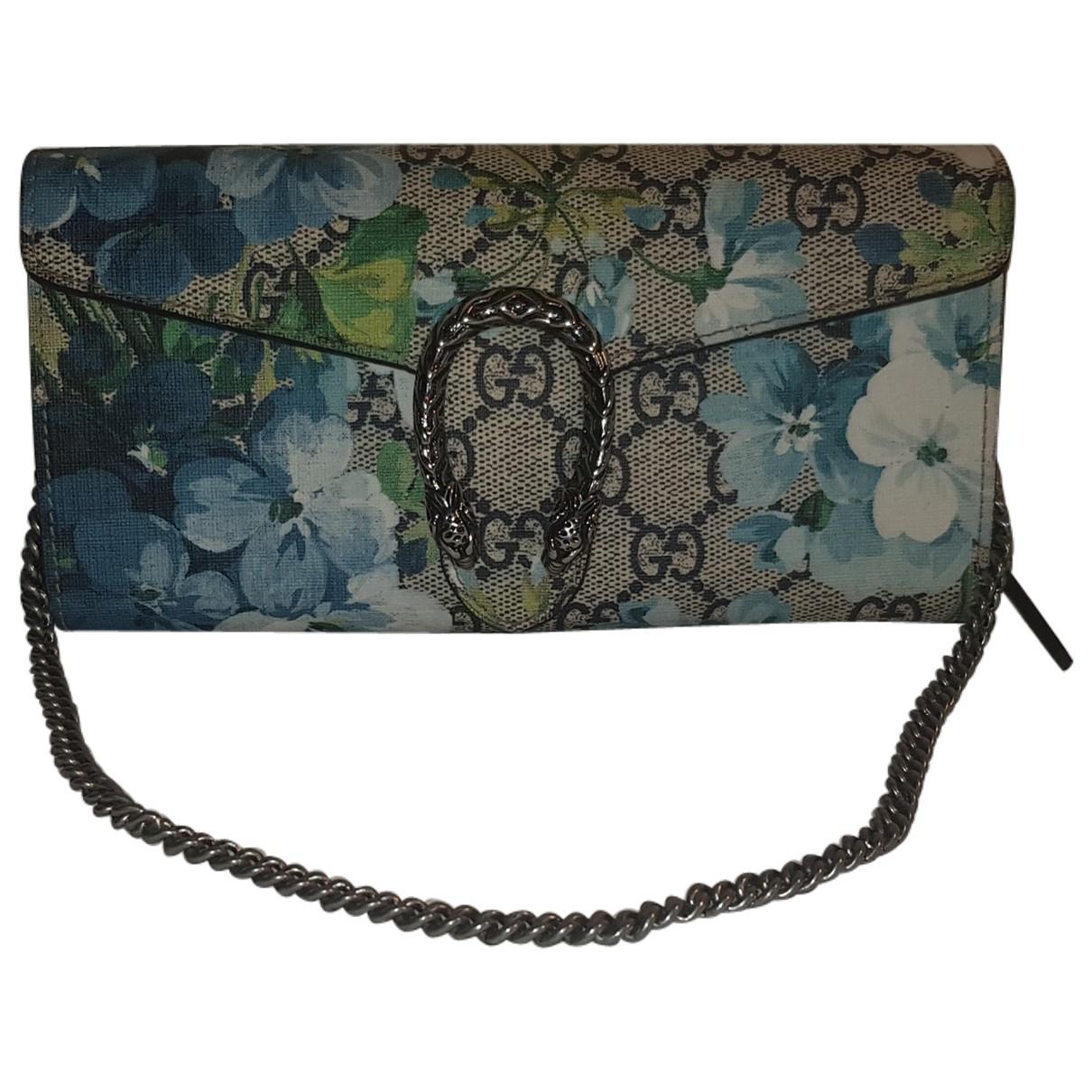 Gucci - Pochette Dionysus pour femme en toile - bleu