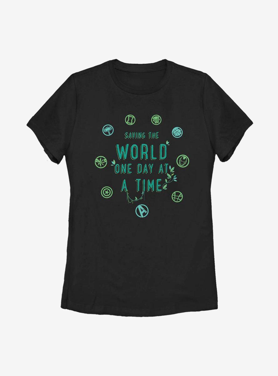 Marvel Avengers World Icons Womens T-Shirt