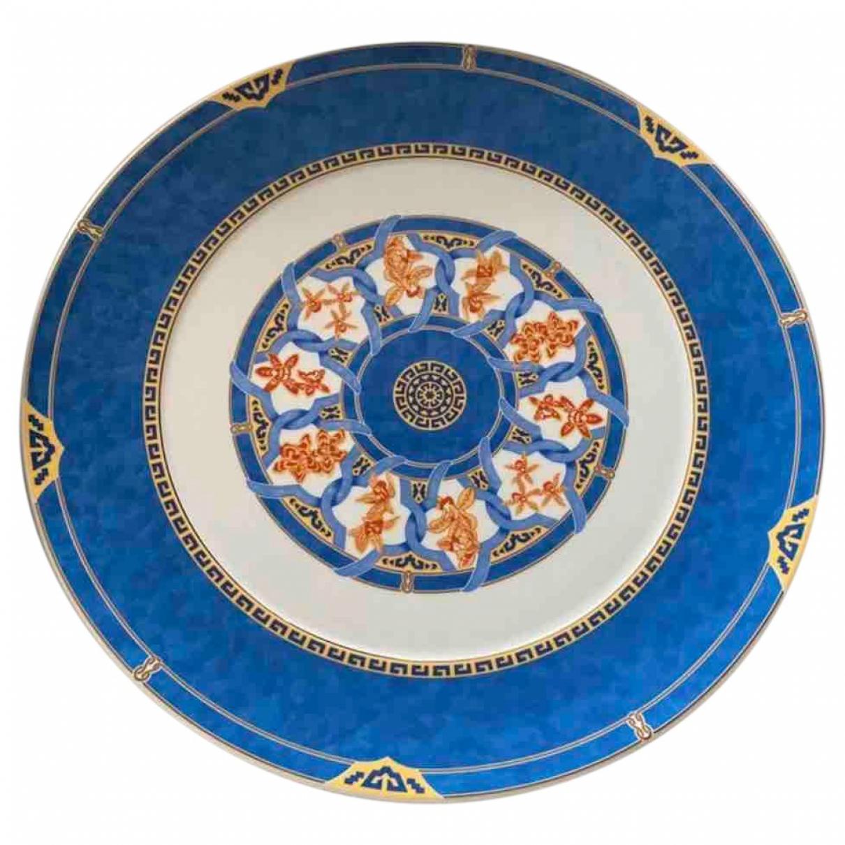 Christofle - Arts de la table   pour lifestyle en porcelaine - bleu